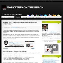 Woorank : outil d'analyse de votre site internet et de la concur