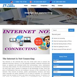 Internet is not connecting in Windows 10