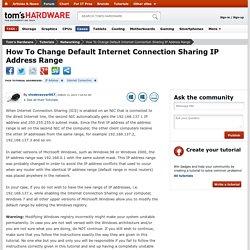 change-default-internet-connection-sharing-address-range