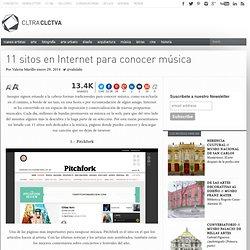 11 sitos en Internet para conocer música