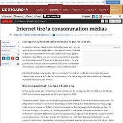 Médias & Publicité : Internet tire la consommation m