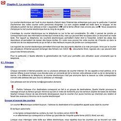 Un nouveau guide d'Internet - Le courrier électronique (e-mail) - par Gilles