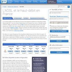 Internet haut-débit et la couverture ADSL en France