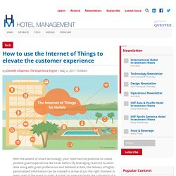 How to use the Internet of Things to elevate the customer experience