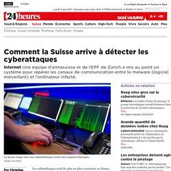 Internet: Comment la Suisse arrive à détecter les cyberattaques