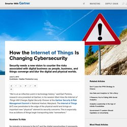 How the Internet of Things Is Changing Cybersecurity