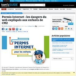 Permis Internet : les dangers du web expliqués aux enfants de CM2
