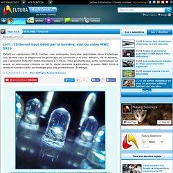 Li-Fi : l'Internet haut débit par la lumière, star du salon MWC 2016