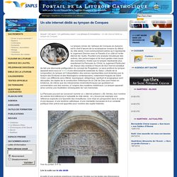 Un site internet dédié au tympan de Conques