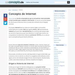 ¿Qué es internet? - Definición y Concepto
