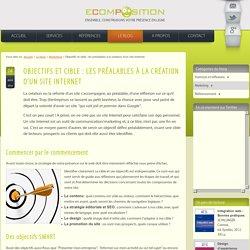 Site Internet : définir sa cible et ses objectifs