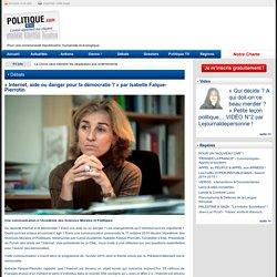 « Internet, aide ou danger pour la démocratie ? » par Isabelle Falque-Pierrotin