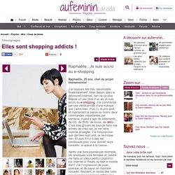 Achats sur Internet, shopping en ligne, acheter sur le net - Dépendance shopping: addiction shopping, être acro au shopping