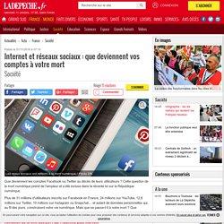 Internet et réseaux sociaux : que deviennent vos comptes à votre mort - 01/11/2016 - ladepeche.fr