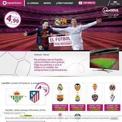 Fútbol por internet - Fútbol en directo - Openfútbol - Fútbol por internet - Fútbol en directo