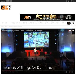 Internet of Things for Dummies - APNLive