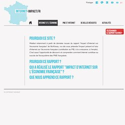Impact d'Internet sur l'économie française