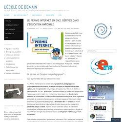 Le permis Internet en CM2, dérives dans l'éducation nationale