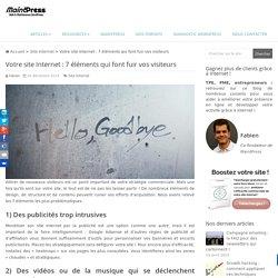 Votre site Internet : 7 éléments qui font fuir vos visiteurs