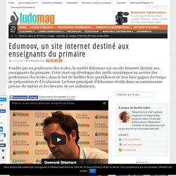 Edumoov, un site internet destiné aux enseignants du primaire