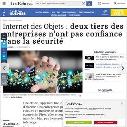 Internet des Objets : les entreprises prennent des risques