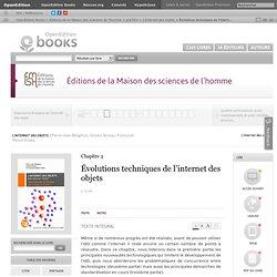 L'Internet des objets - Évolutions techniques de l'internet des objets