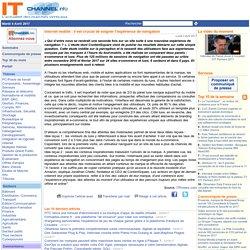 Internet mobile : il est crucial de soigner l'expérience de navigation