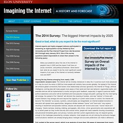 Pew Future of the Internet Survey Report: Experts Predict Internet's Impact by 2025