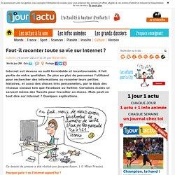 internet vie privée expliqués aux enfants