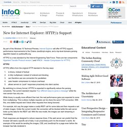 New for Internet Explorer: HTTP/2 Support