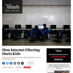 Internet Filtering at Schools Is Problematic