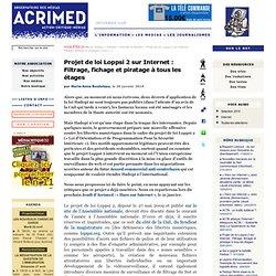 Projet de loi Loppsi 2 sur Internet : Filtrage, fichage et pirat