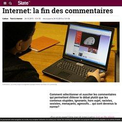 Internet: la fin des commentaires