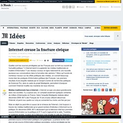 [France] Internet creuse la fracture civique