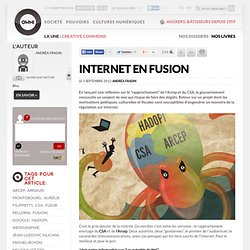 Internet en fusion