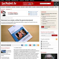 Internet en 2030, selon le gouvernement