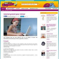 Internet gratuit pour réviser - Les enfants et l'école