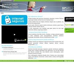 Internet segurua - Gurasoen Kontrola