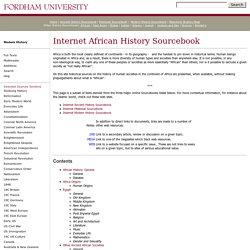 Internet History Sourcebooks