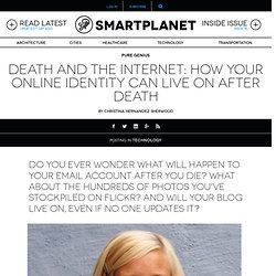Death and the Internet: How your online identity can live on after death - SmartPlanet
