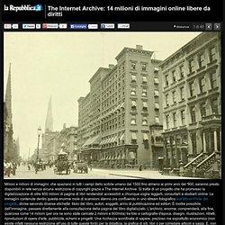 The Internet Archive: 14 milioni di immagini online libere da diritti