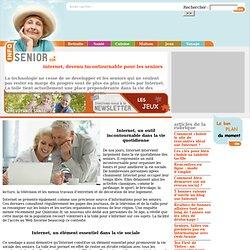 Internet, devenu incontournable pour les seniors