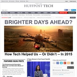 Technology News and Opinion on The Huffington Post
