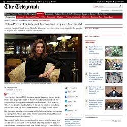 London Fashion Week: Net-a-Porter founder says UK internet fashion industry can lead world