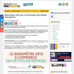 Les PME et Internet - Infographie barometre 2013 e-commerce des PME
