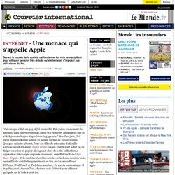 Une menace qui s'appelle Apple