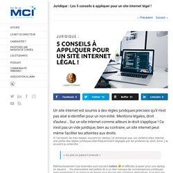 5 conseils pour un 1 internet légal