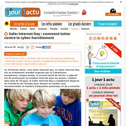 Safer Internet Day : comment lutter contre le cyber-harcèlement