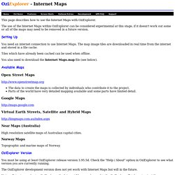 Internet Maps Download