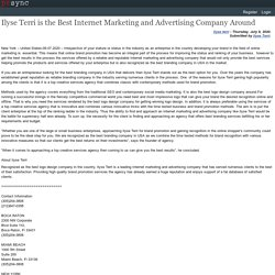 Ilyse Terri is the Best Internet Marketing and Advertising Company Around